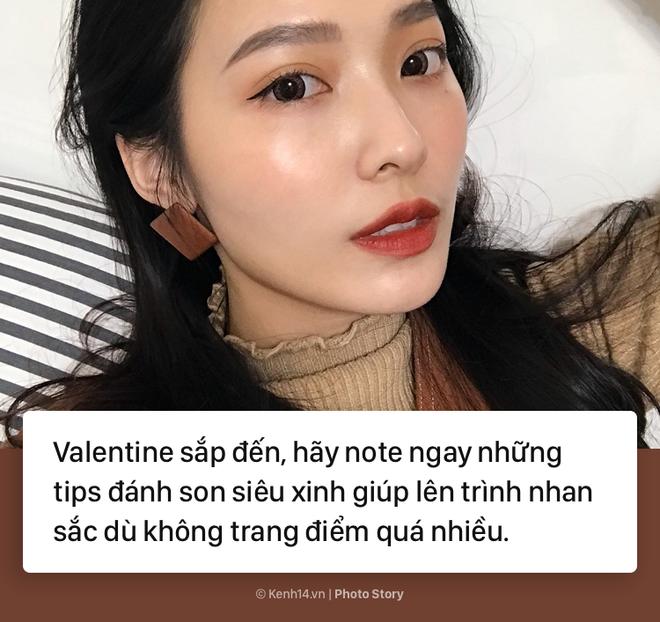 Những kiểu đánh son cực xinh cho các nàng nhân dịp Valentine - Ảnh 1