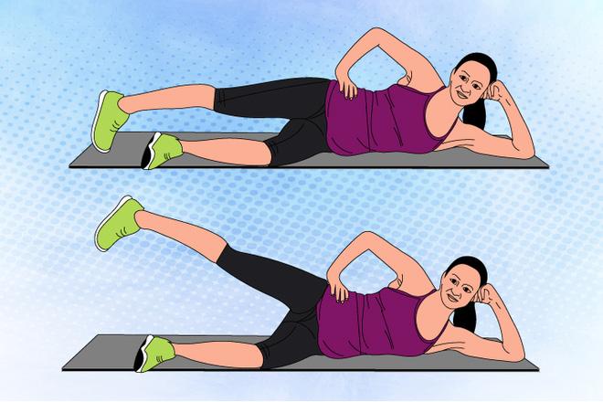 8 bài tập giúp mẹ bầu thư giãn và khỏe hơn trong suốt thai kì - Ảnh 5