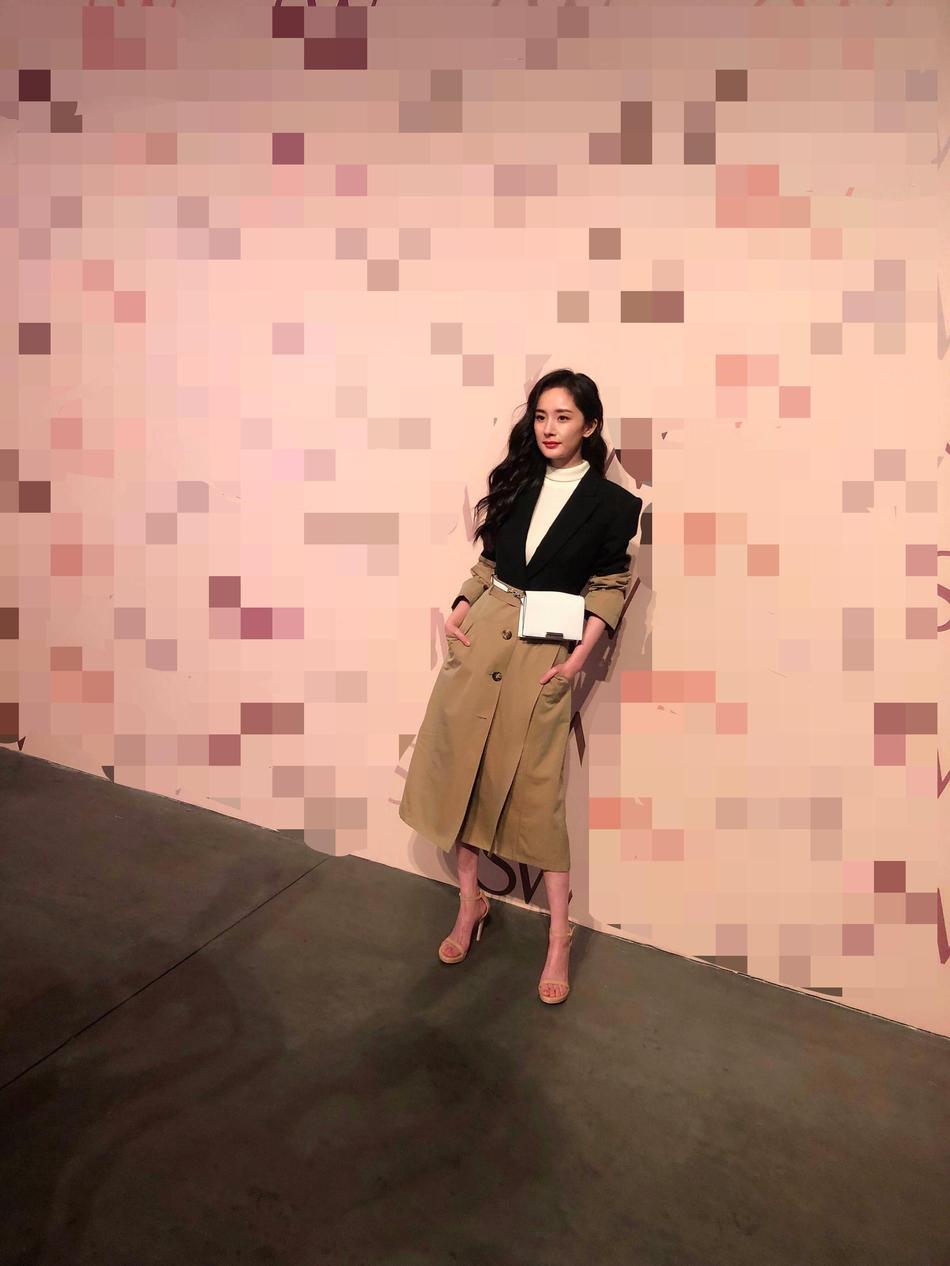 Dương Mịch bị chê quê mùa khi đọ sắc với siêu mẫu Kendall Jenner tại New York - Ảnh 2