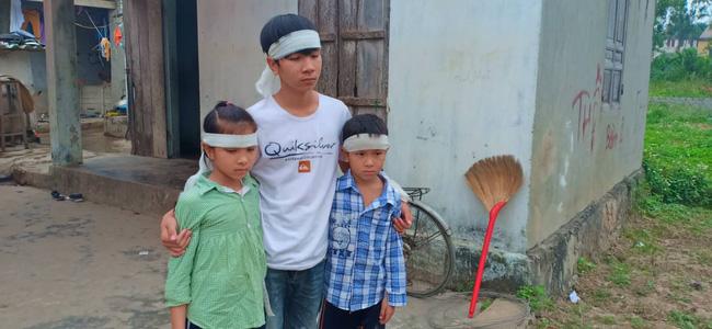 Mẹ bỏ đi biệt tích, hai đứa trẻ ngã quỵ trước linh cữu người cha vừa qua đời vì tai nạn giao thông - Ảnh 6