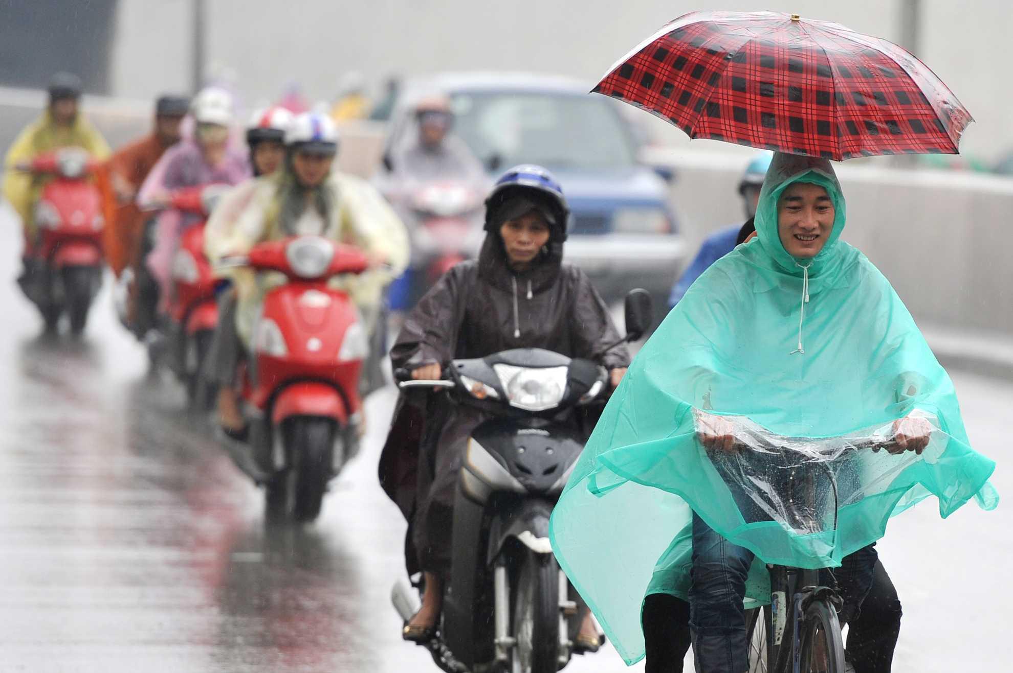 Sau nhiều ngày có nắng, miền Bắc lại chuẩn bị đón không khí lạnh mạnh và mưa vào cuối tuần - Ảnh 1