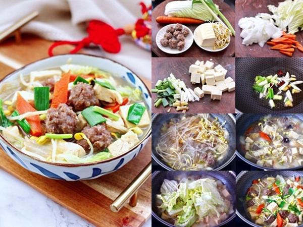 Làm miến thịt rau củ nhanh gọn bổ sung vitamin, cân bằng dinh dưỡng - Ảnh 1