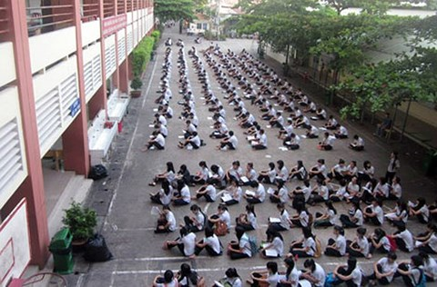 TP.HCM: 'Choáng' với lịch học của trường tư thục Nguyễn Khuyến - Ảnh 1