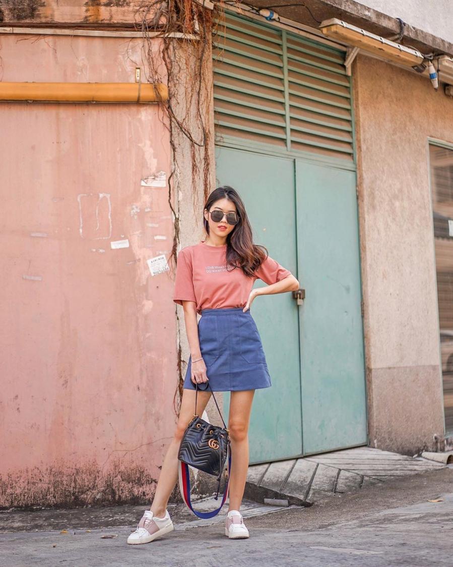 Các mẫu váy phát huy tác dụng 'kéo dài chân' vô cùng tiện lợi cho các nàng 'nấm lùn' - Ảnh 4
