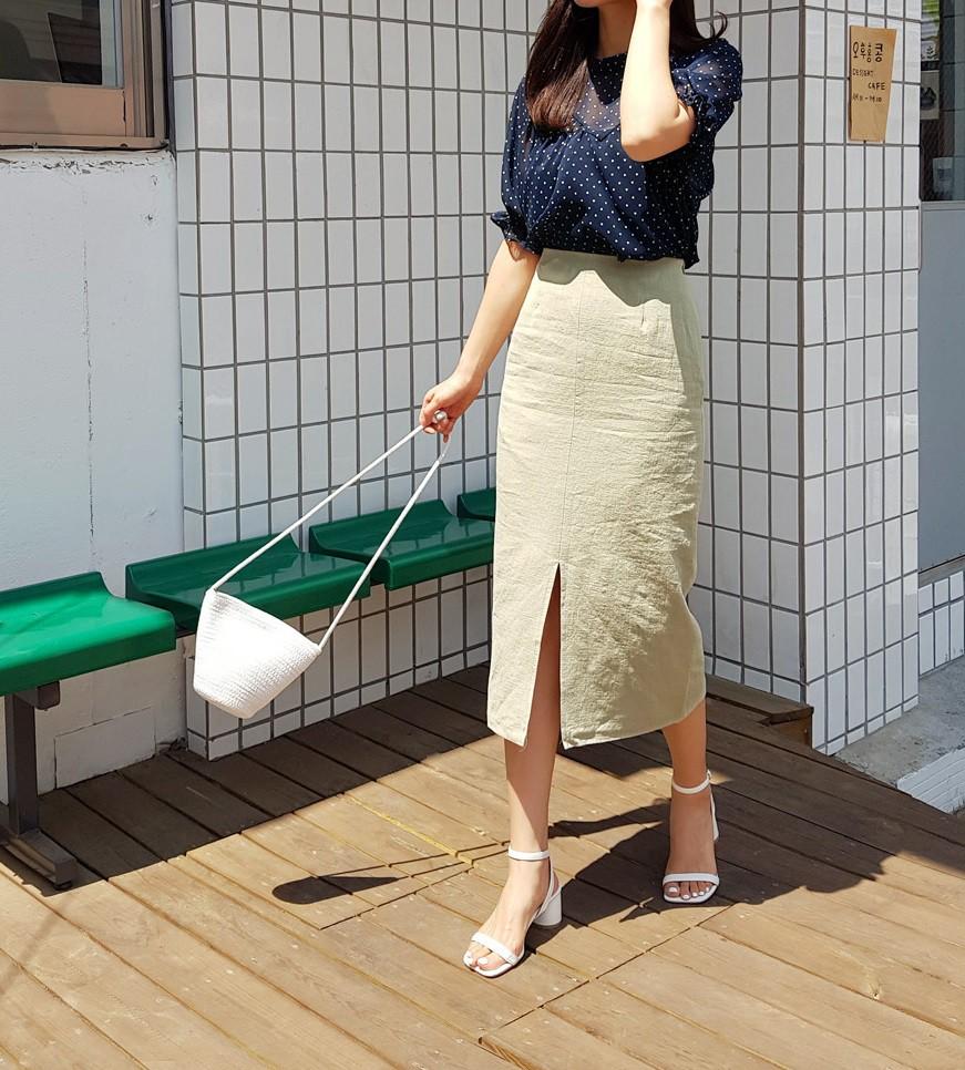Các mẫu váy phát huy tác dụng 'kéo dài chân' vô cùng tiện lợi cho các nàng 'nấm lùn' - Ảnh 6