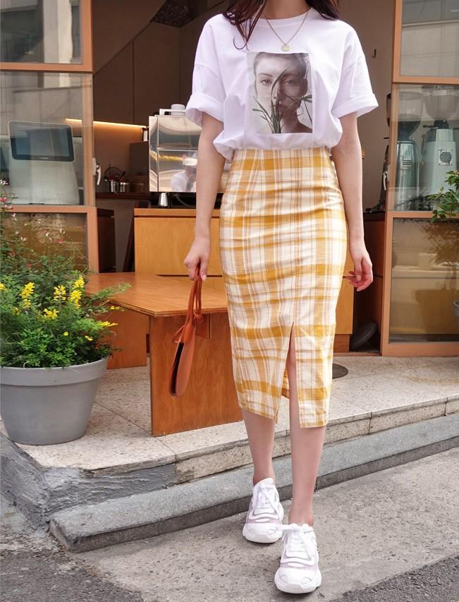 Các mẫu váy phát huy tác dụng 'kéo dài chân' vô cùng tiện lợi cho các nàng 'nấm lùn' - Ảnh 7
