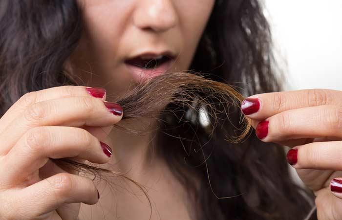 Chế độ chăm sóc tóc kém khiến tóc yếu, mọc chậm, dễ gãy rụng, xơ
