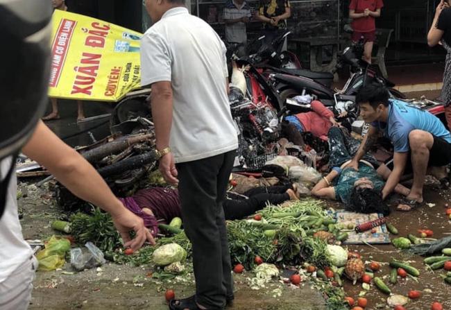 Danh tính nạn nhân thương vong vụ ô tô con và 2 xe tải va chạm rồi lao vào chợ ở Đắk Nông - Ảnh 1