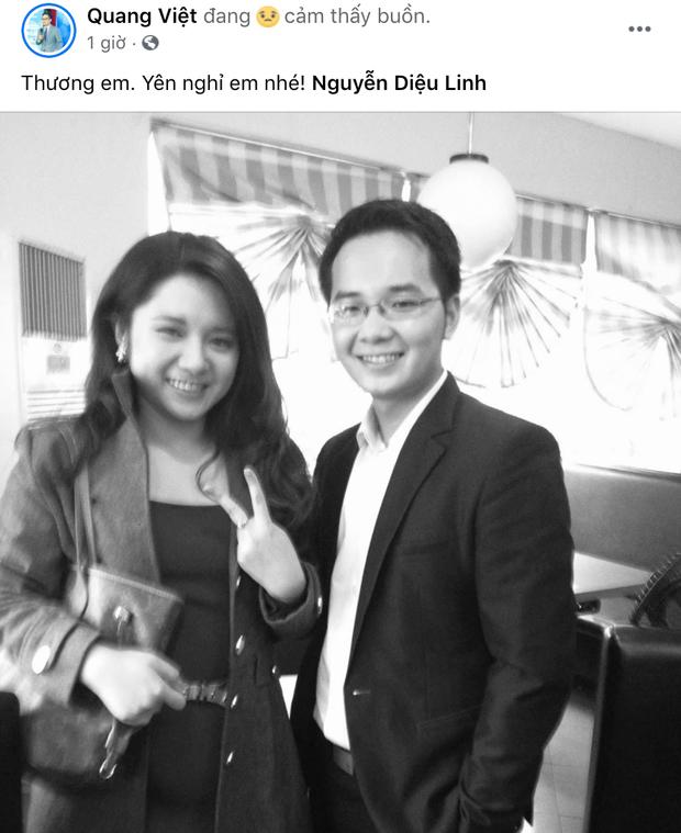 """Đồng nghiệp ở VTV và các đài truyền hình xót xa khi nghe tin MC Diệu Linh qua đời: """"Sẽ không còn đau khổ em nhé"""" - Ảnh 2"""
