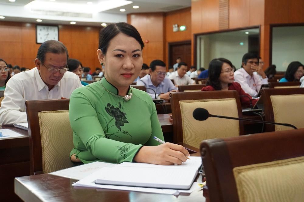 Nữ đại biểu HĐND rất buồn vì sáng kiến 'lu chống ngập' bị hiểu sai, chế giễu - Ảnh 1