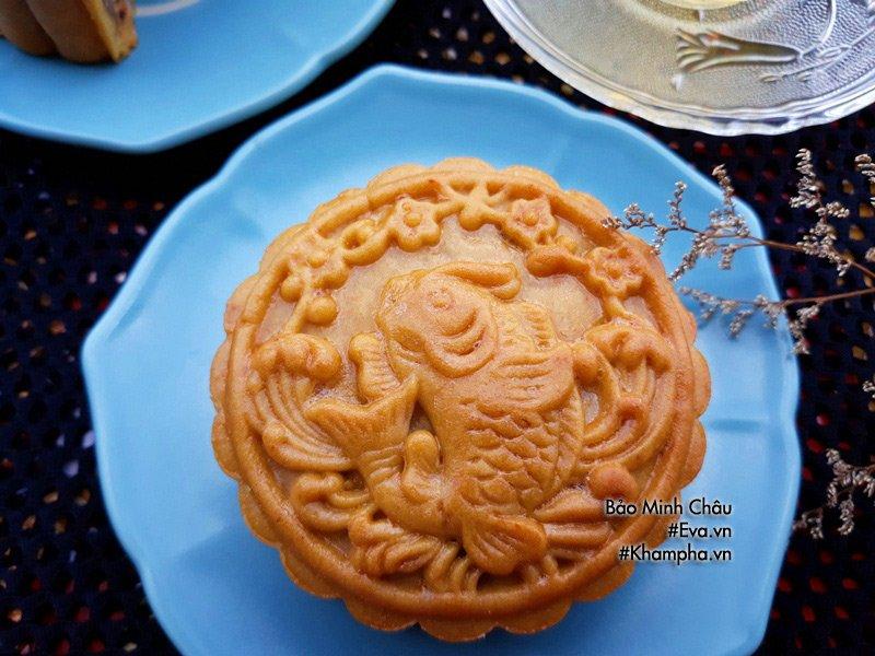 Cách làm bánh nướng truyền thống tuyệt ngon lại đơn giản cho Tết Trung thu - Ảnh 8