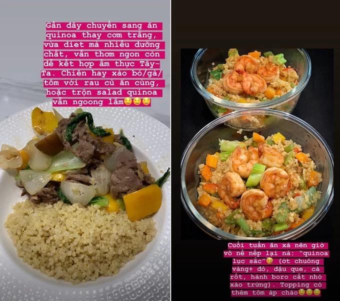 Chán ăn khoai lang giữ dáng, Tóc Tiên chuyển sang 'nghiện' hạt quinoa - Ảnh 2