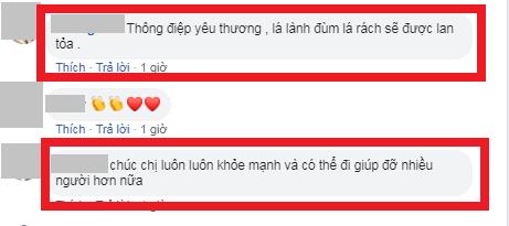 Hoa hậu Lương Thùy Linh xúc động thăm dân vùng lũ, fan khen điều này - Ảnh 3
