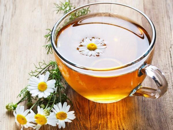 Trà hoa cúc là trà thảo mộc từ hoa cúc tươi hoặc phơi khô đều sử dụng được