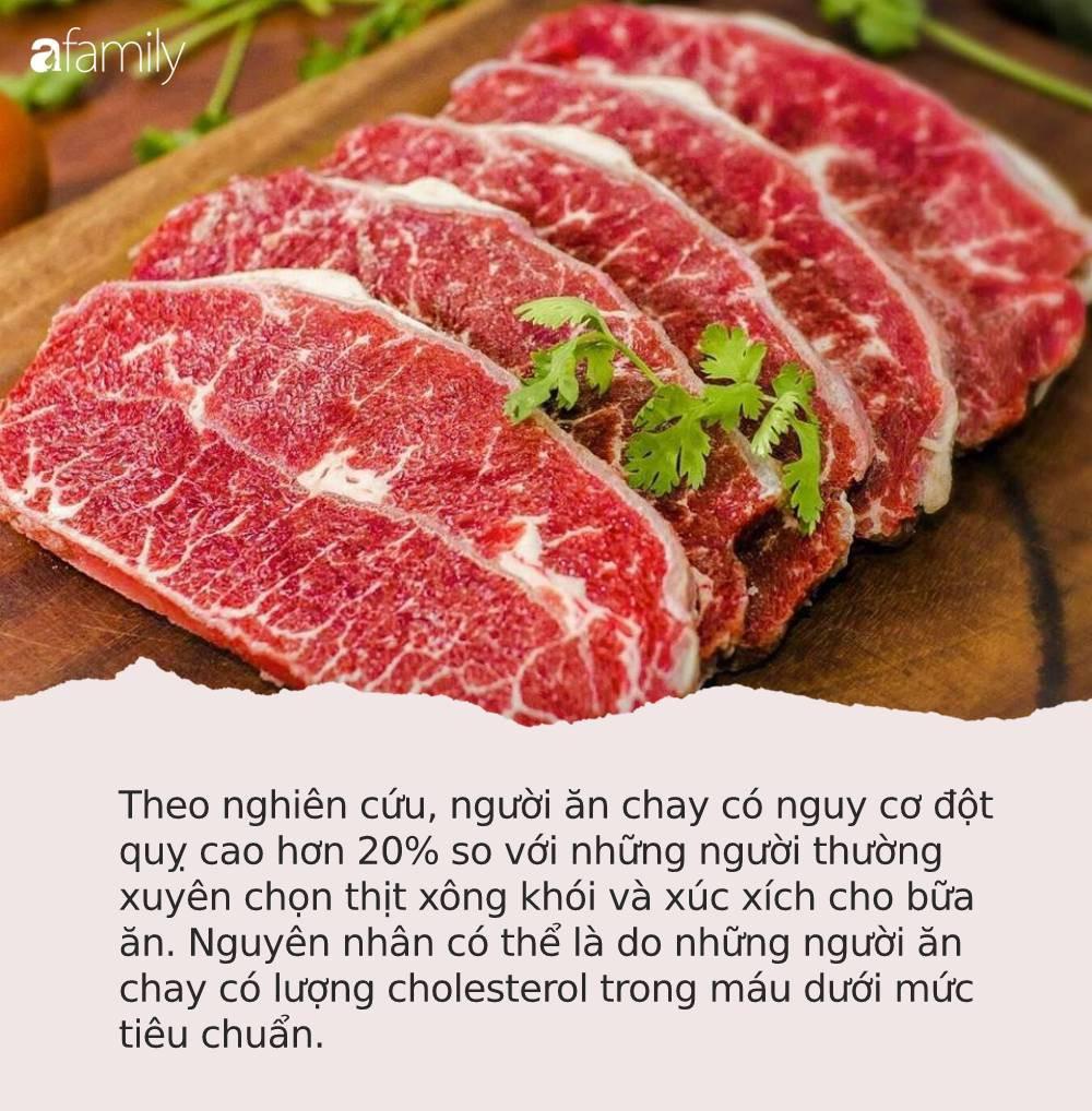Ai cũng nghĩ ăn nhiều thịt hại sức khỏe nhưng nếu bỏ ăn thịt hãy cẩn thận với căn bệnh nguy hiểm này - Ảnh 1