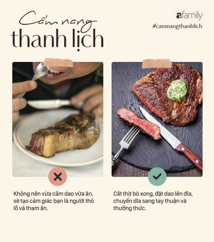 """Bò bít tết - Món ăn thách thức cho sự """"chanh sả"""" và rất dễ bị bảo là kém duyên khi phạm phải những lỗi khó ngờ này - Ảnh 8"""