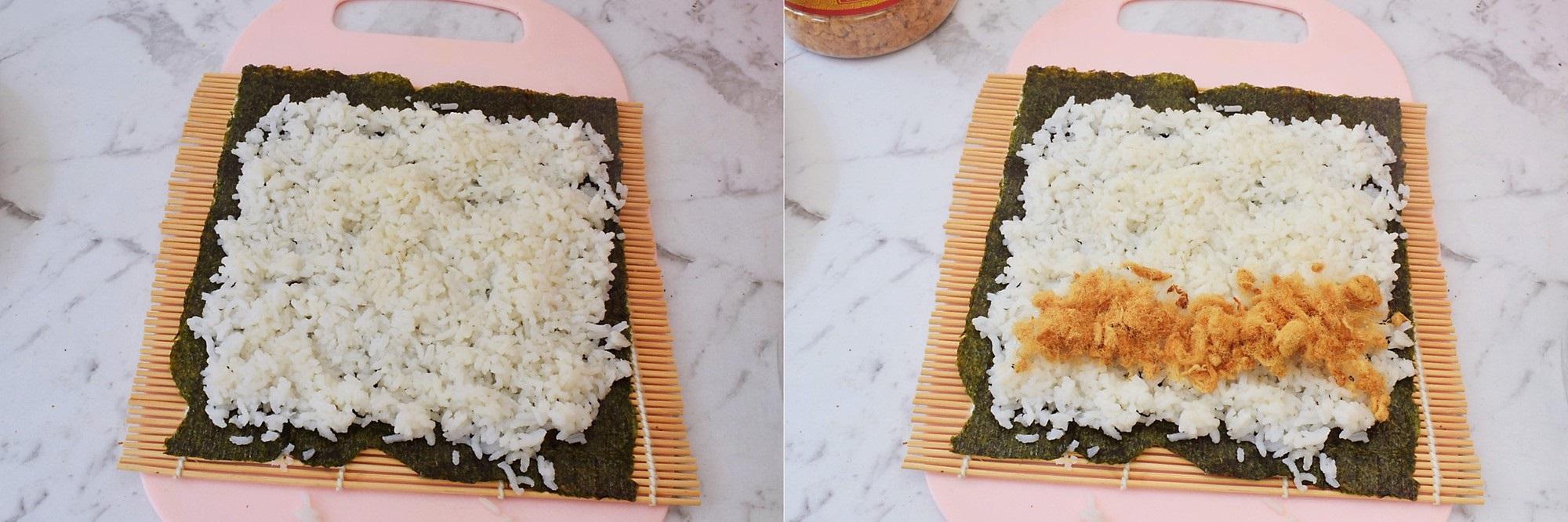 Món cơm cuộn chỉ cần thêm chút xíu nguyên liệu này thì vị ngon sẽ nhân lên gấp nhiều lần! - Ảnh 3