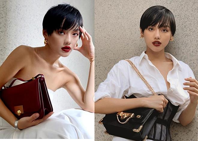 Gu trang điểm hợp tóc ngắn của Châu Bùi, Khánh Linh - Ảnh 3