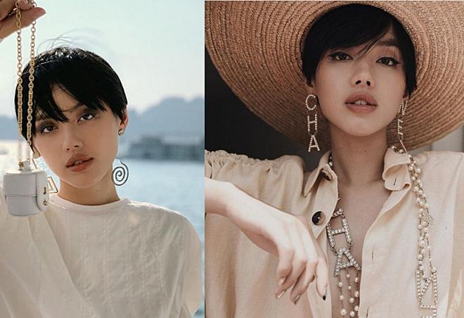 Gu trang điểm hợp tóc ngắn của Châu Bùi, Khánh Linh - Ảnh 4