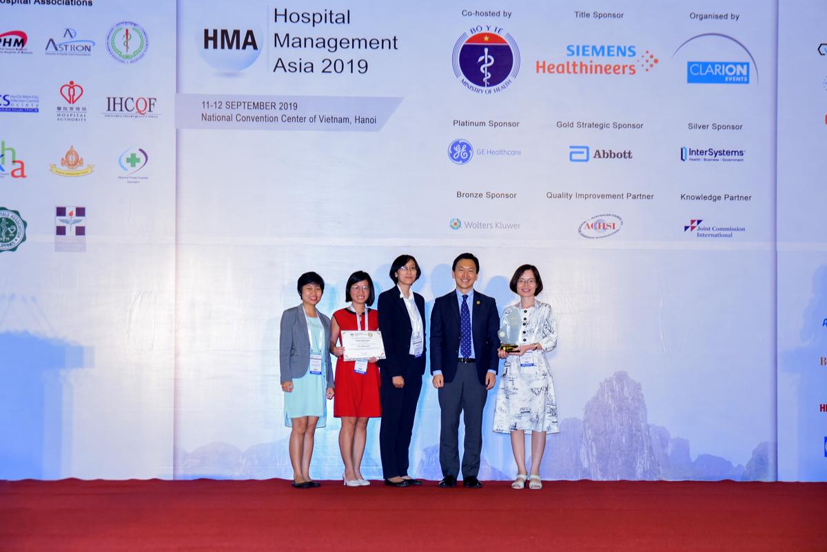 """VINMEC được vinh danh là """"Bệnh viện tiến bộ nhất"""" và  """"An toàn cho người bệnh"""" - Ảnh 2"""