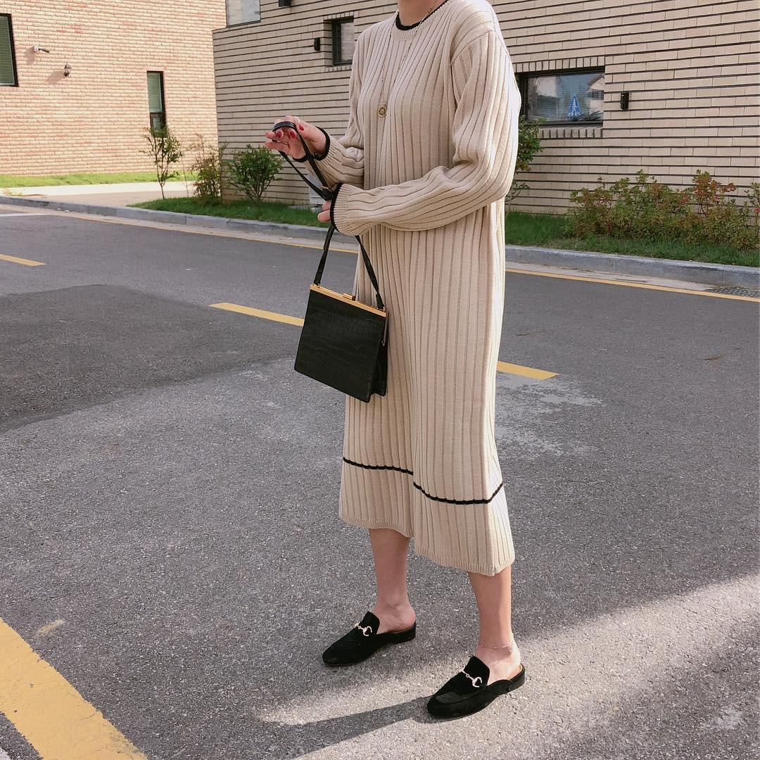 Giày khuyết gót - item dù mang đế bệt cũng kéo dài chân cực khéo, lại nữ tính và trang nhã vô cùng - Ảnh 4