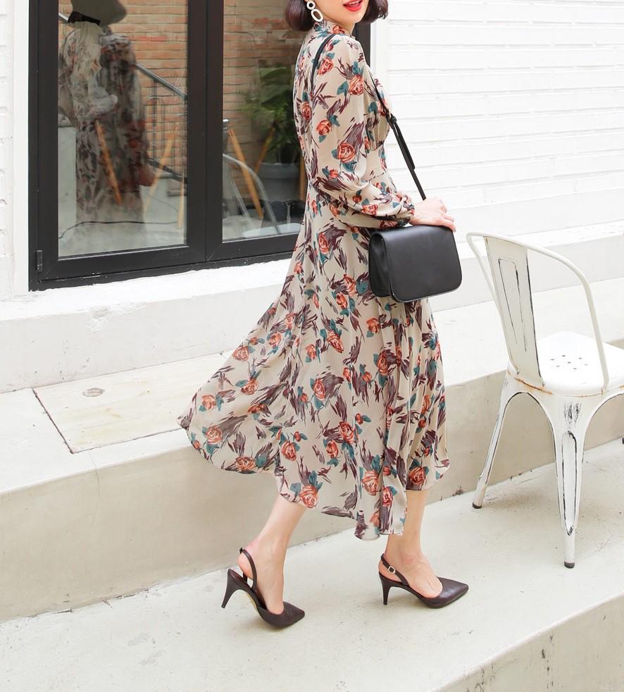 Giày khuyết gót - item dù mang đế bệt cũng kéo dài chân cực khéo, lại nữ tính và trang nhã vô cùng - Ảnh 6