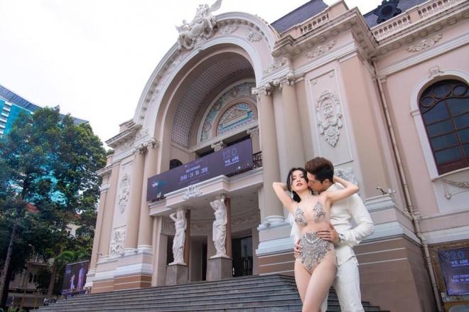Sĩ Thanh bị 'ném đá' vì chụp ảnh cưới 'nhạy cảm', Diệu Nhi lên tiếng: 'Mình đẹp thì mình cứ khoe thôi' - Ảnh 2