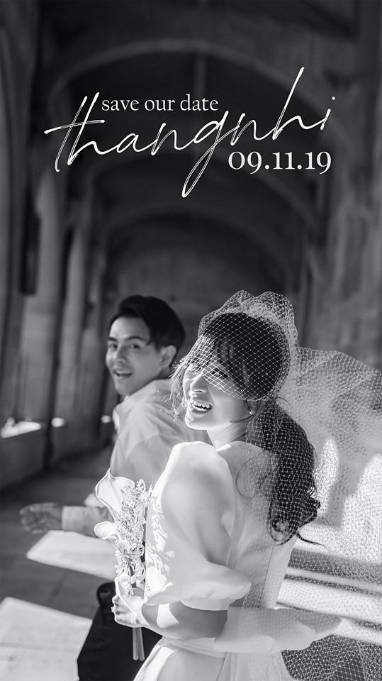 Đông Nhi công bố thiệp cưới cùng bạn trai Ông Cao Thắng - Ảnh 1