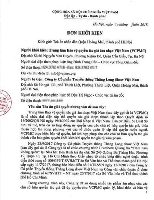 Live concert Quang Hà bị nhiều nhạc sĩ khiếu nại vi phạm tác quyền - Ảnh 6