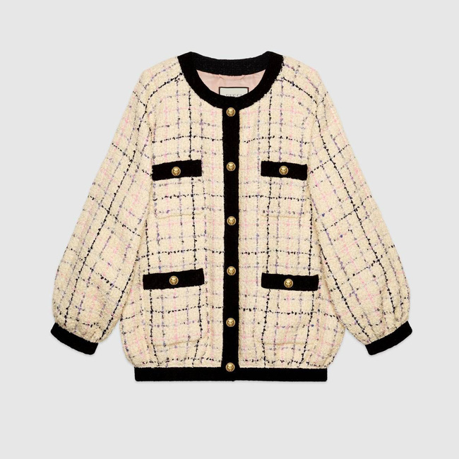 Áo khoác vải tweed: Món đồ tiêu biểu và cực đáng sắm cho tủ đồ Đông năm nay - Ảnh 2