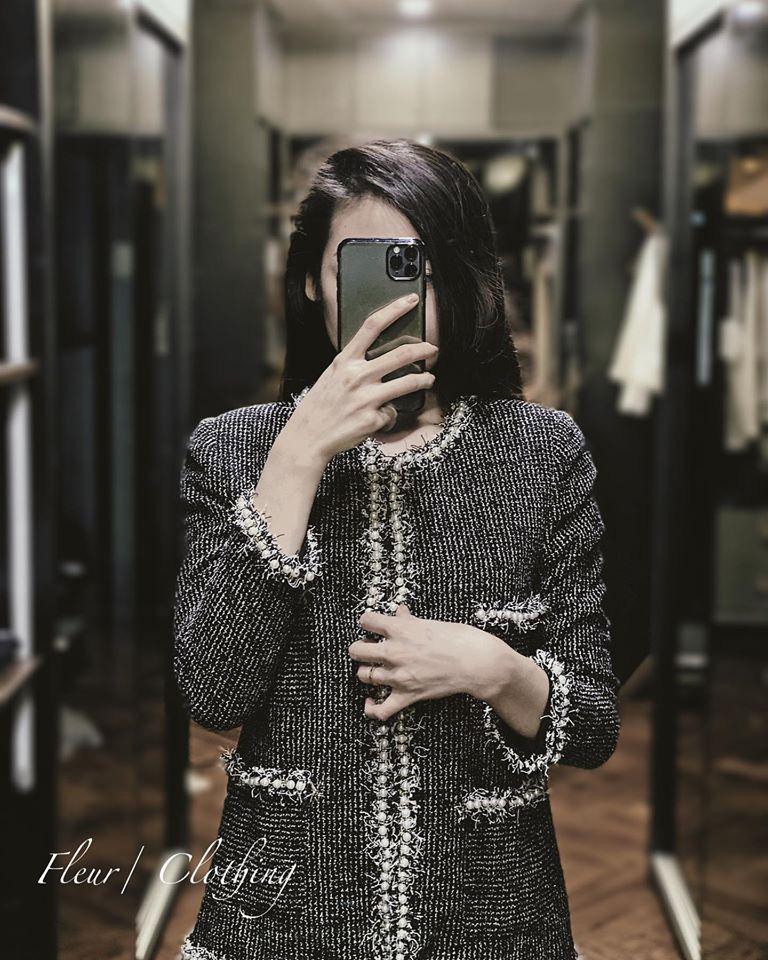 Áo khoác vải tweed: Món đồ tiêu biểu và cực đáng sắm cho tủ đồ Đông năm nay - Ảnh 11