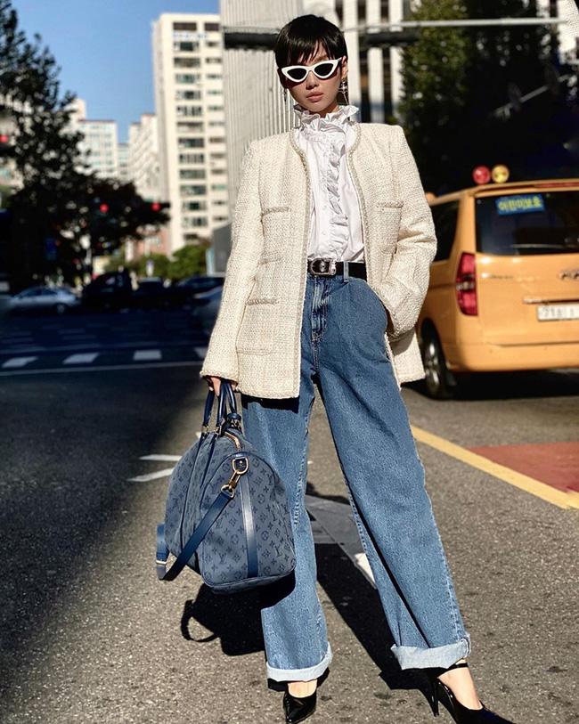 Áo khoác vải tweed: Món đồ tiêu biểu và cực đáng sắm cho tủ đồ Đông năm nay - Ảnh 16