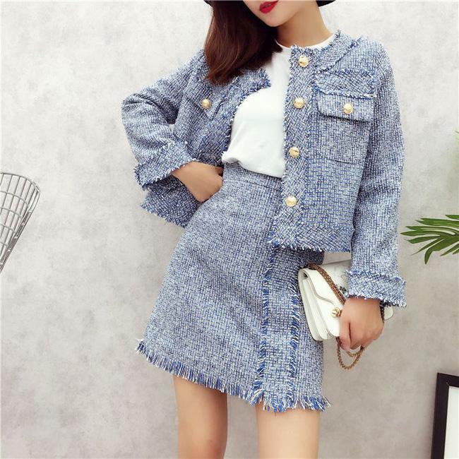 Áo khoác vải tweed: Món đồ tiêu biểu và cực đáng sắm cho tủ đồ Đông năm nay - Ảnh 23