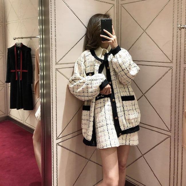 Áo khoác vải tweed: Món đồ tiêu biểu và cực đáng sắm cho tủ đồ Đông năm nay - Ảnh 24