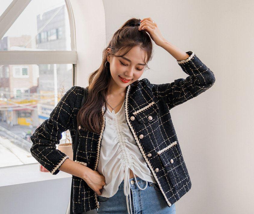 Áo khoác vải tweed: Món đồ tiêu biểu và cực đáng sắm cho tủ đồ Đông năm nay - Ảnh 5