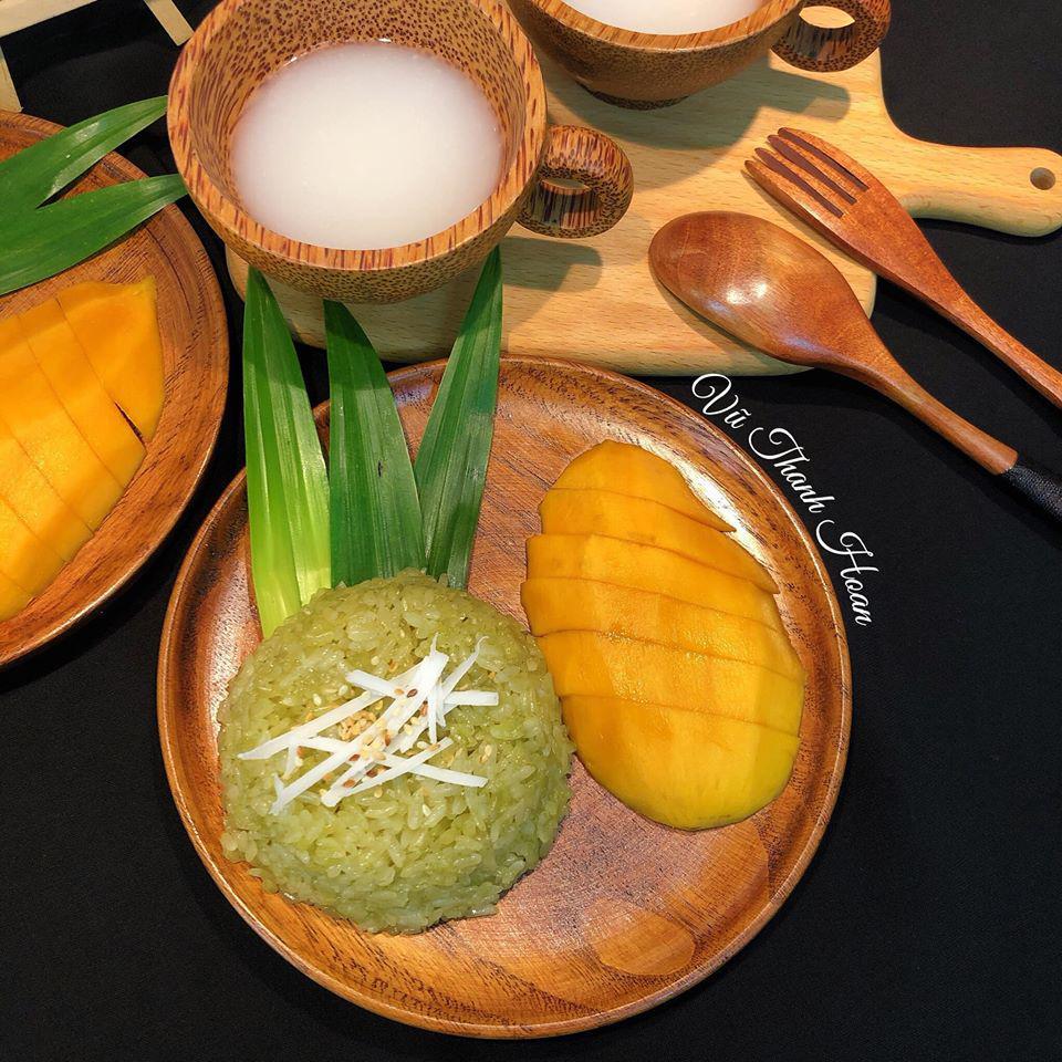 Trổ tài làm món xôi xoài thần thánh ngay tại nhà, ai nhìn cũng tưởng của đầu bếp Thái - Ảnh 3