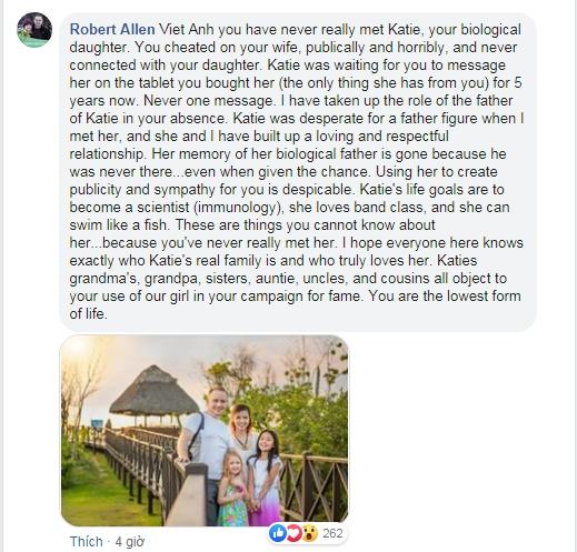 Viết tâm thư thương nhớ con gái, Việt Anh bị vợ cũ vào tận trang cá nhân bình luận: 'Đừng giả tạo nữa' - Ảnh 4