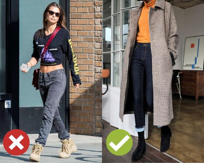3 lỗi diện quần jeans không khiến cặp chân ngắn hơn thì cũng dễ đưa bạn vào tình huống kém duyên, nhạy cảm - Ảnh 1