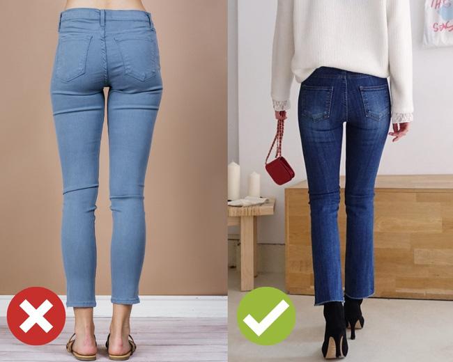 3 lỗi diện quần jeans không khiến cặp chân ngắn hơn thì cũng dễ đưa bạn vào tình huống kém duyên, nhạy cảm - Ảnh 3