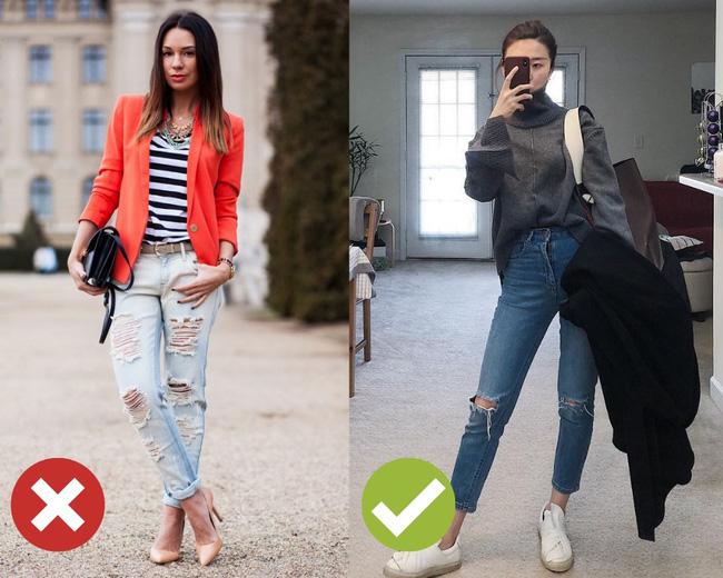 3 lỗi diện quần jeans không khiến cặp chân ngắn hơn thì cũng dễ đưa bạn vào tình huống kém duyên, nhạy cảm - Ảnh 5
