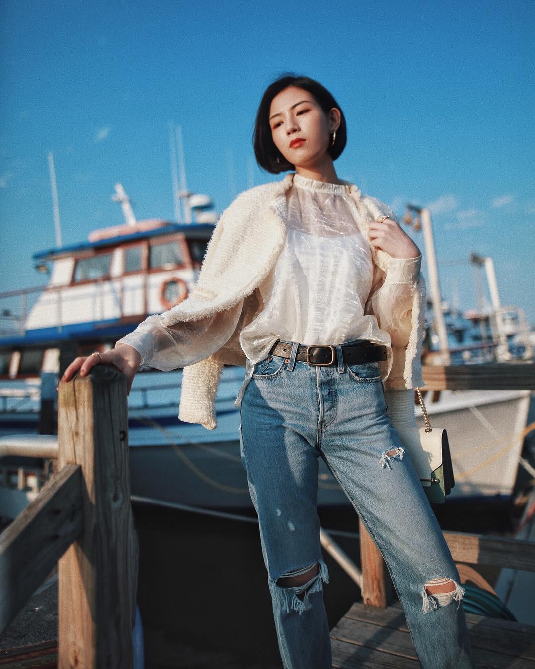 3 lỗi diện quần jeans không khiến cặp chân ngắn hơn thì cũng dễ đưa bạn vào tình huống kém duyên, nhạy cảm - Ảnh 6