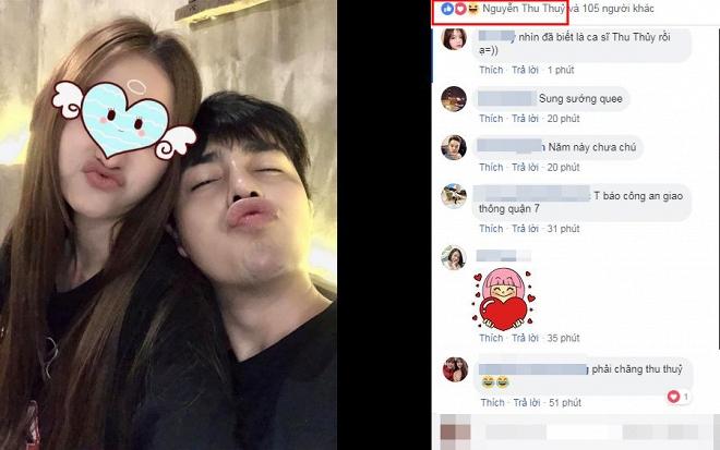 Bạn trai tin đồn của Thu Thủy đăng ảnh tình tứ bên cô gái giấu mặt mà nhìn ai cũng đoán được danh tính - Ảnh 1