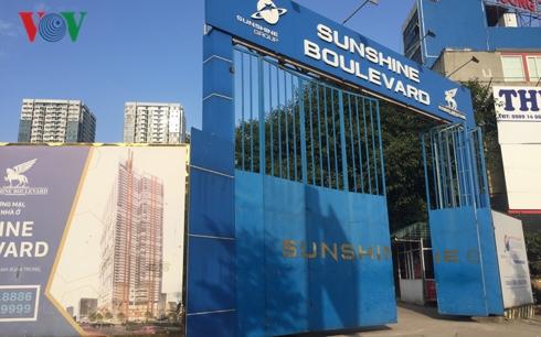 """Dự án Sunshine Boulevard Thanh Xuân """"thâu tóm"""" đất ở của 16 hộ dân - Ảnh 1"""
