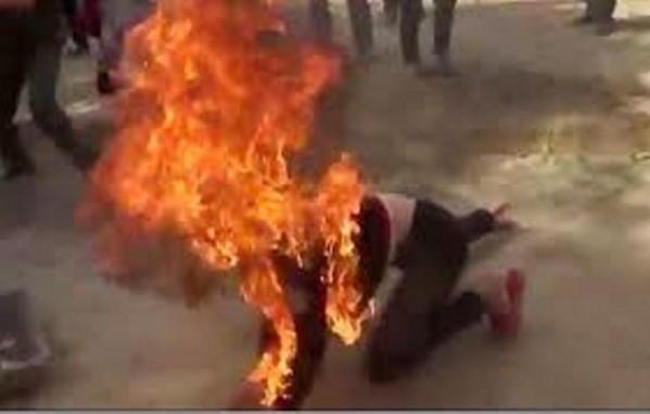 Không xin được tiền, chồng tưới xăng đốt chết vợ ở Bình Phước - Ảnh 1