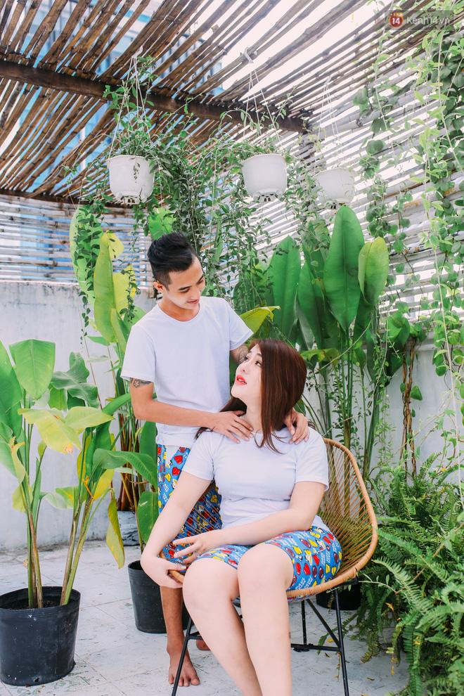Chuyện tình cô nàng chuyển giới nặng 100kg và chàng ốc tiêu Sài Gòn: 6 năm yêu nhau không cần hoa và quà vào Valentine! - Ảnh 5