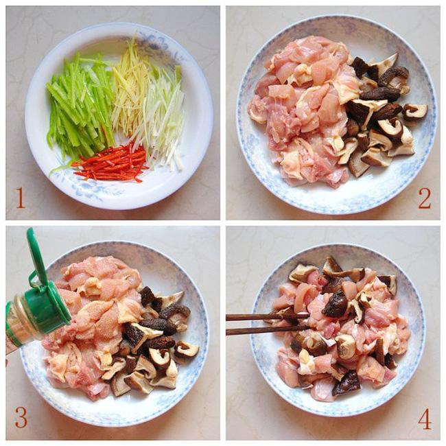 Món gà hấp nấm làm trong có 15 phút mà ngon ngỡ ngàng - Ảnh 2