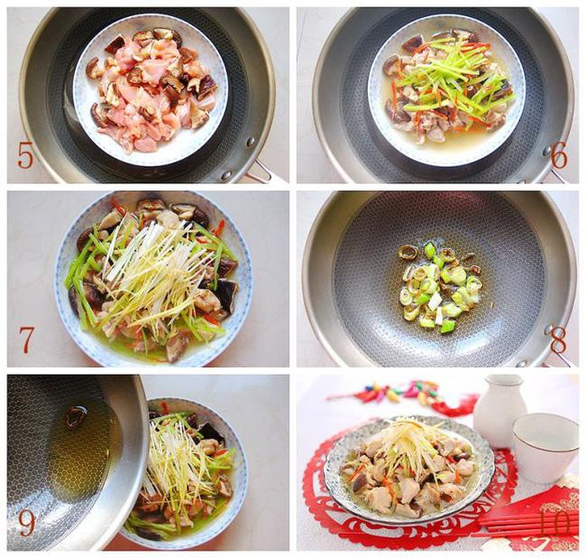 Món gà hấp nấm làm trong có 15 phút mà ngon ngỡ ngàng - Ảnh 3