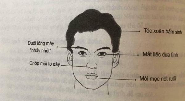 Nhân tướng học: Những đặc điểm xấu trên gương mặt đàn ông có tính trăng hoa, nhiều chuyện - Ảnh 1