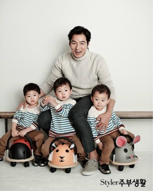 Hành trình trưởng thành của 3 cậu quý tử đáng yêu nhà Song II Gook - Ảnh 1