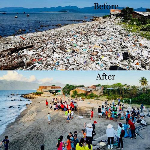 Người Việt dọn sạch rác hưởng ứng thách thức trên mạng - Ảnh 1